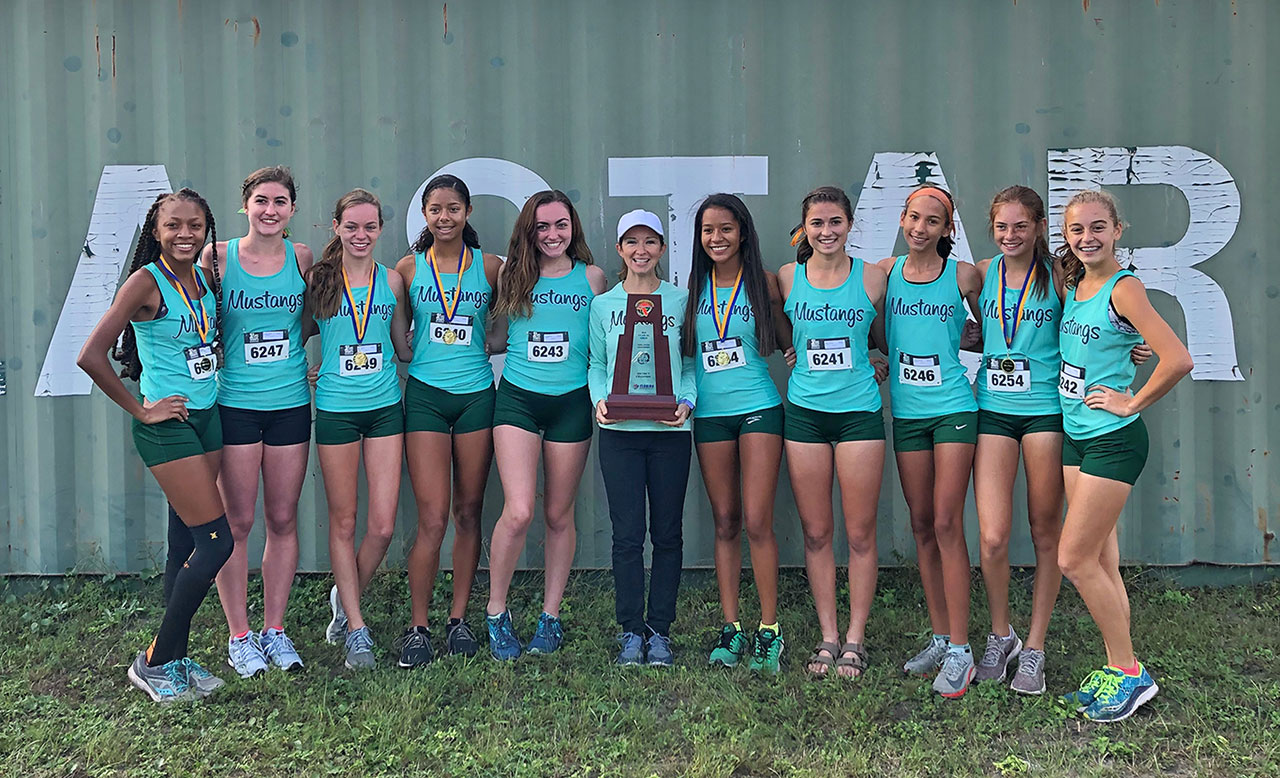 Girls Cross Country District 4A Champions