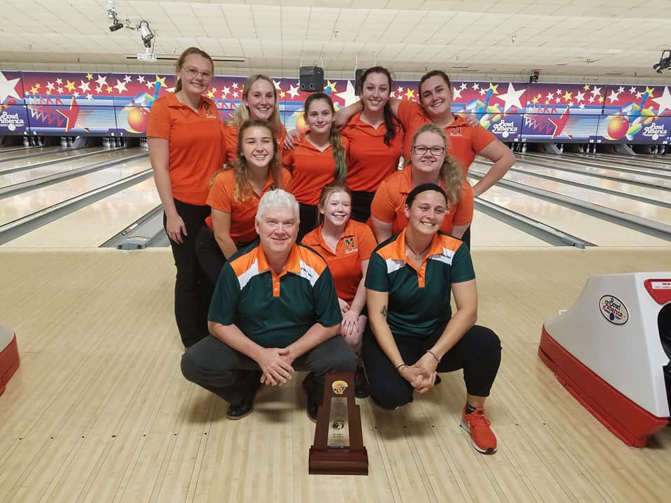 Girls Bowling 2019 Gateway and District Champions