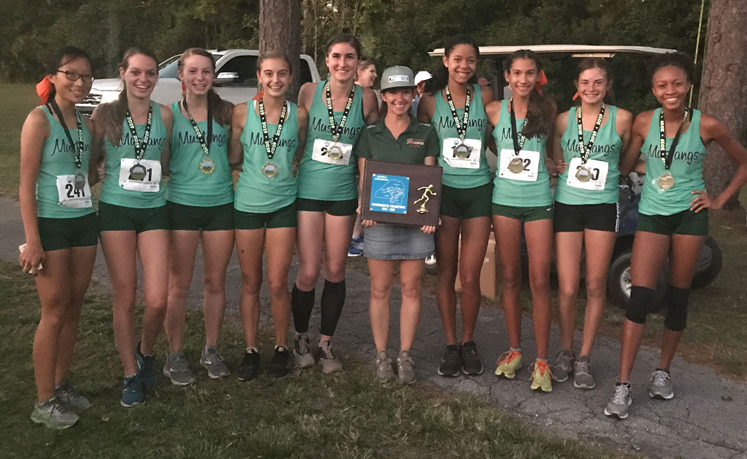 Girls Cross Country 2019 Gateway Conference Champions