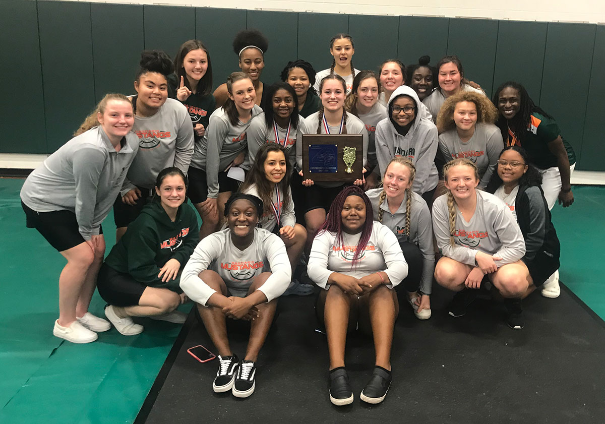 Girls Weightlifting Gateway Conference 2019 Champions!